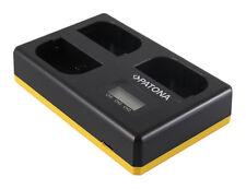 Triple Ladegerät für Canon LP-E6 EOS 5D Mark III, 5D Mark IV, EOS 7D Mark III