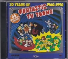 30 Years Of Funtastic TV Toons 1960 - 1990 - CD (Leedon Concept CCO142CD)