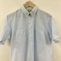 Vintage Deadstock Mens 16 Large MR. Wilson Poly Nylon Short Sleeve Shirt 3c