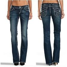 Rock Revival Johanna Boot Cut Flap Pocket Embroidered Size 24
