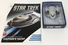 Star Trek U.S.S. Enterprise NCC-1701-E CAPTAIN'S YACHT ~ Magazine #75 Eaglemoss