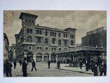 TREVISO Palazzo Littorio Piazza S. Vito Rossi Tessuti vecchia cartolina