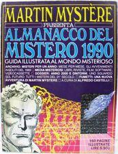 MARTIN MYSTÈRE almanacco del mistero 1990 buono