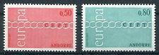 Andorra 232 - 233 ** postfrisch Cept 1971 Michel 20,00 € MNH
