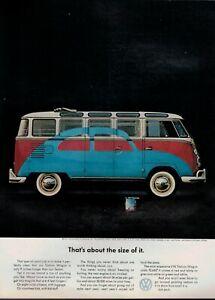 1963 VOLKSWAGEN , VW Station Wagon : magazine PRINT AD *