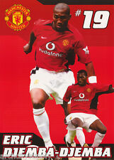 POSTER - SOCCER- ERIC DJEMBA-DJEMBA MANCHESTER UNITED - FREE SHIP #SP0138 RW19 A