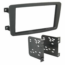 MERCEDES-BENZ CAR STEREO DOUBLE/2/D-DIN RADIO INSTALL DASH KIT 95-8722B