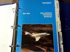 British Aerospace BAe 800 Recurrent Training Manual