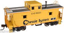 Atlas Trainman Chessie System / C&O Cupola Caboose Nib R-T-R