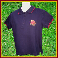 NRL BRISBANE BRONCOS Polo Shirt (XL) 97cm Ladies 12 or kids 10-11c  w/tags NEW!