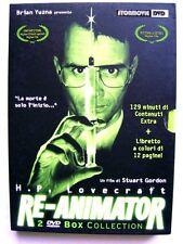 Dvd Re-Animator - Edizione speciale Box collection 2 dischi Slipcase 1985 Usato
