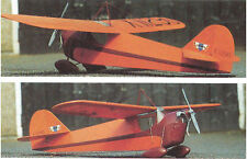 1/6 Scale Aeronca C-1 Cadet / Scout Plans ,Templates and Instructions 58ws