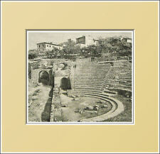 FIESOLE. Teatro romano - TOSCANA. In Passepartout 1896