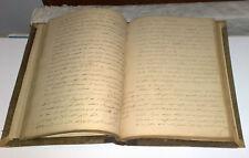 Martini  ALGEBRA COMPLEMENT  libro manoscritto