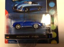 PORSCHE 356A SPEEDSTER GREENLIGHT Motor World 1/64-scale BLUE new MIBP rare