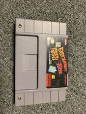 Exertainment Mountain Bike Rally / Speed Racer (SNES) Super Nintendo VERY RARE
