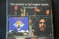 Ted Nugent & The Amboy Dukes Call Of The Wild/Fang Tooth & Claw 2 on 1 CD  New