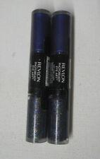 2 tube lot REVLON PHOTOREADY EYE ART SHADOW 120 MIDNIGHT GLITZ sealed