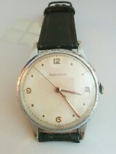 Vintage 1940s Jaeger-LeCoultre mens watch. P478/c. Jumbo size37mm. Working.