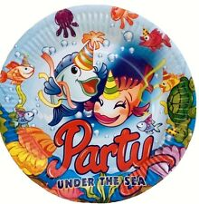 Party Supplies Party Under The Sea Happy Birthday Boy/Girl  Decoration-40 Plates