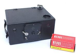 ✮ Ernemann Film K 6x9 Rollfilm-Boxkamera Seltene frühe Version // vom Händler!