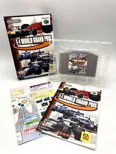 F-1 World Grand Prix Nintendo 64 N64 Formula 1 World Championship