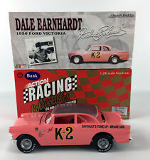 Dale Earnhardt K-2 1956 Ford Victoria Limited Edition Bank Action Diecast