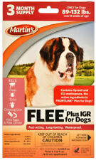 Flee Plus Igr Spot on Dog flea drops 89-132 pound 3 month supply (Frontline Plus