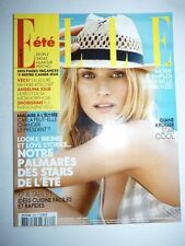 Magazine mode fashion ELLE French #3319 7 aout 2009 Diane Kruger
