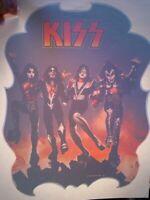 KISS VINTAGE 1976 76 DESTROYER #2 IRON ON TRANSFER ACE PETER GENE PAUL NICE, K-1