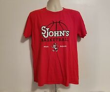 St Johns Red Storm Basketball NCAA Womens Large Red TShirt