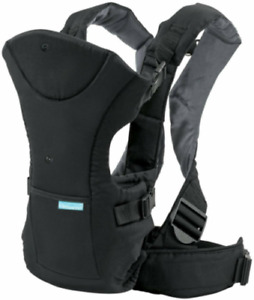 Pre-Owned Newborn Baby Carrier 8-32 Pounds Convertible Infant Child Sling Black