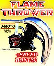 Power 2-Stroke 66Cc/80Cc Motorized Bicycle Kit Pipe For Bikes