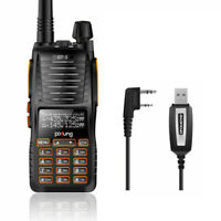 Baofeng GT-5 VHF/UHF DUAL BAND Transceiver Ham FM Dual PTT Two-way Radio +Cable