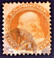 CatalinaStamps:  US Stamp #133 Used, SCV=$550, #A75