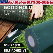 10M 10*15cm Artificial Grass Self Adhesive Synthetic Turf Joining Tape Glue Peel