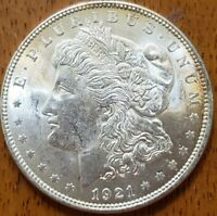 1921 Morgan Dollar BU**** Check It Out!  KM# 110 #AA455-9