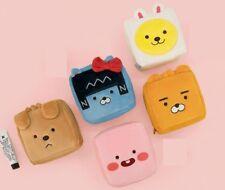 Kakao Friends Little Friends Mini Square Cosmetic Make Up Travel Pouch Organizer