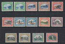 Trinidad and Tobago 1935-37 George V Complete set SG 230-238 Mint.