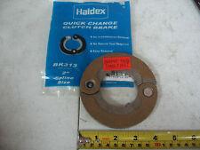 """Midland Haldex Hinged Clutch Brake 2"""" Inside Diameter .380"""" Thick P/N BK-313"""