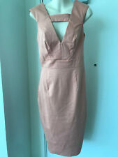 ASOS Peach Apricot stretch pencil dress sz 10 BNWT