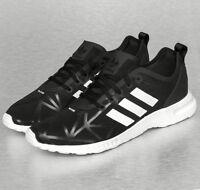 Adidas ZX FLUX SMOOTH Damen Fitness Schuhe Sport Laufschuhe Shoes schwarz 39 40