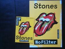 Rolling Stones 2018 no filter tour book livre  marseille london berlin stuttgart