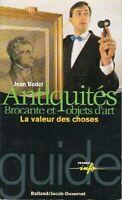Antiquités - Jean Bedel - Livre - 90109 - 1710793