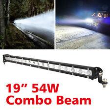 """19""""54W LED WorkLight Bar Combo Flood Spot Beam Offroad Truck Driving Light 12V"""