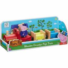 Peppa Pig Wooden Grandpa Pig's Train with Grandpa Pig Figure