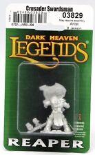 Reaper 03829 Dhl Crusader Swordsman (Sword & Shield) Warrior Knight Paladin Hero