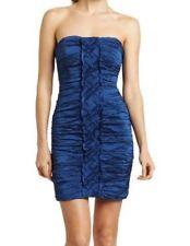 NWT $378 BCBG MAX AZRIA Cobalt Blue Mariko Strapless Dress Size 0