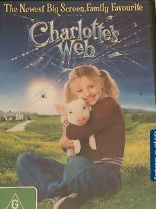 Charlotte's Web Dakota Fanning DVD Brand New