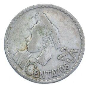 1960 Guatemala 25 Centavos *372